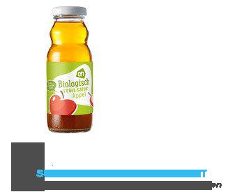 AH Biologisch Fruitsapje appel 12 aanbieding