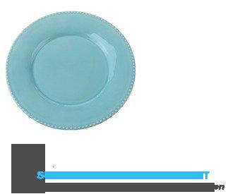 AH Diner bord lichtblauw aanbieding