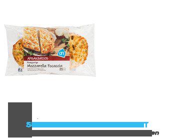 AH Focaccia kruidenboter/ mozzarella