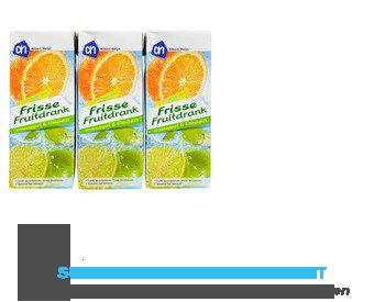 AH Frisse fruitdrank sinas-limoen