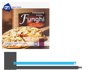 AH Krokante pizza funghi aanbieding