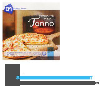 AH Krokante pizza tonno aanbieding