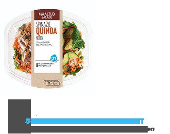 AH Maaltijdsalade quinoa-noten aanbieding