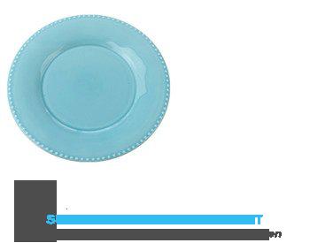 AH Ontbijtbord lichtblauw aanbieding