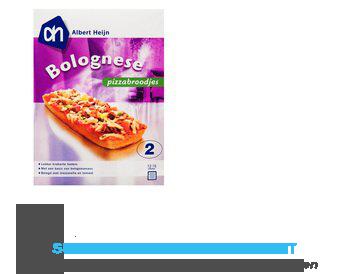 AH Pizzabroodjes Bolognese aanbieding