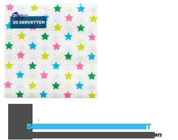 AH Servet sterrenmix 24x24 cm aanbieding