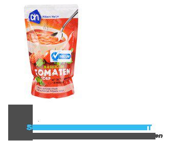 AH Soep in zak tomatensoep- basilicum aanbieding