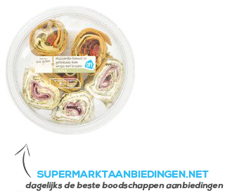 AH Wraphapje mozzarella-tom. geitenkaas&ham