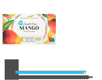 AH Zwarte thee mango zoet & fruitig