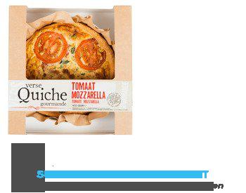 Ambachtelijke quiche tomaat mozzarella aanbieding