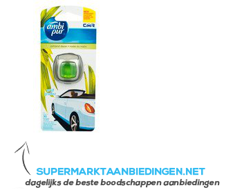 Ambi Pur Car air freshener meadows rain aanbieding