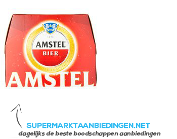 Amstel Pils mono aanbieding