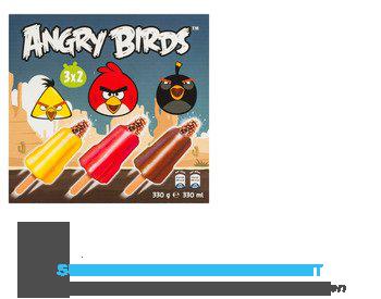 Angry birds ijs aanbieding