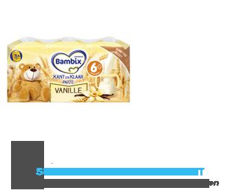 Bambix Kant-en-klaar papje vanille aanbieding