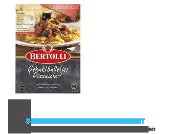 Bertolli Maaltijdpakket gehaktballetjes pizzaiola aanbieding