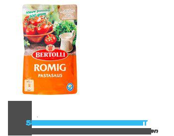 Bertolli Pastasaus in zak romig aanbieding