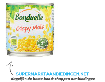 Bonduelle Crispy maïs aanbieding