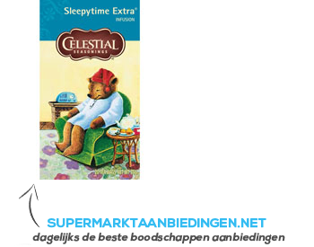 Celestial Seasonings Sleepytime extra wellness tea 1-kops