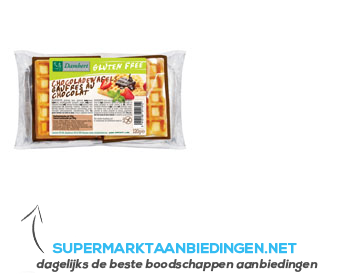 Damhert Eiwafels chocolade glutenvrij aanbieding