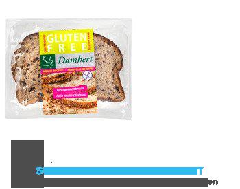 Damhert Meergranenbrood gesneden glutenvrij