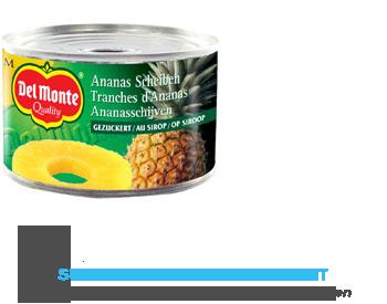 Del Monte Ananasschijven op siroop aanbieding