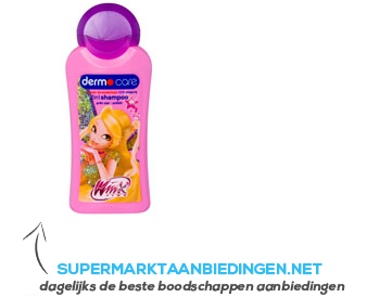 Dermo Care Winx club shampoo 2 in 1 aanbieding
