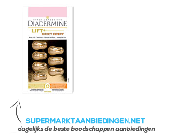 Diadermine Lift direct effect capsules aanbieding