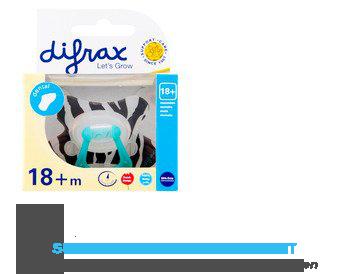 Difrax Fopspeen dental extra sterk 18 maanden aanbieding