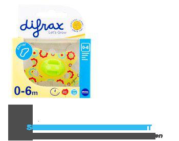 Difrax Fopspeen dental mini 0-6 maanden aanbieding