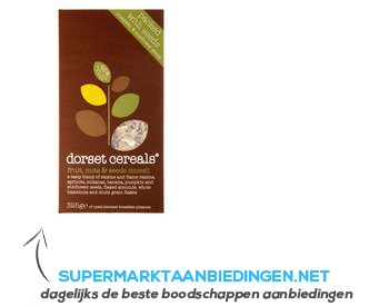 Dorset Cereals fruit, nuts & seeds muesli