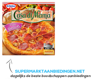 Dr. Oetker Casa di Mama speciale aanbieding