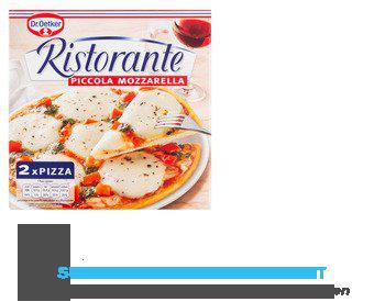 Dr. Oetker Ristorante piccola mozzarella aanbieding
