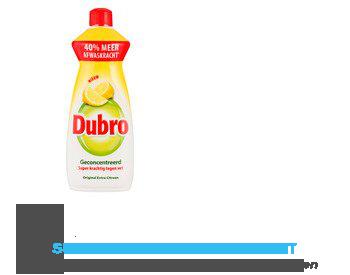 Dubro Afwasmiddel original extra citroen aanbieding