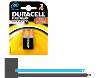 Duracell Batterijen 9V plus power aanbieding
