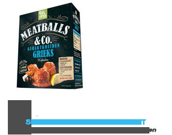 Euroma Meatballs & Co Grieks aanbieding