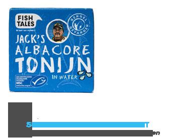 Fish Tales Albacore tonijn in water MSC