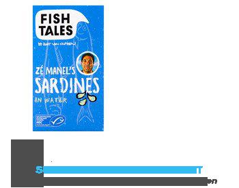 Fish Tales Sardines in water MSC aanbieding