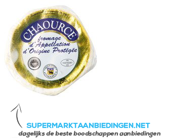 Fromagère de la Brie Chaource 50 aanbieding