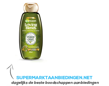 Garnier Loving blends mythische olijf shampoo aanbieding