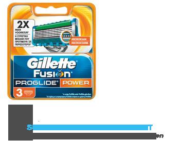 Gillette Fusion ProGlide power scheermesjes aanbieding