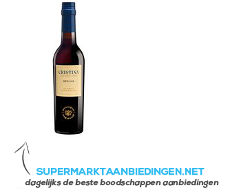 Gonzalez Byass Cristina medium sherry