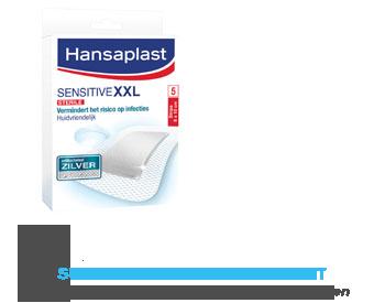 Hansaplast Sensitive xxl pleister met zilver aanbieding