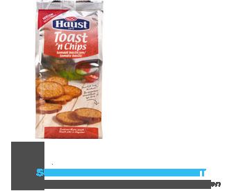 Haust Toast 'n chips tomaat-basilicum aanbieding