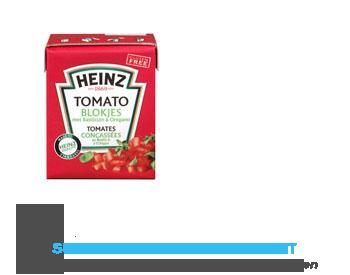 Heinz Tomato blokjes met basilicum en oregano aanbieding