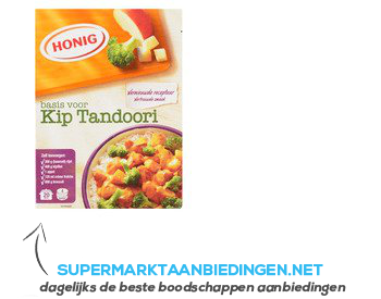 Honig Mix voor kip tandoori aanbieding