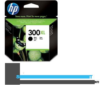 HP Cartridge zwart nr. 300XL aanbieding