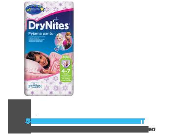 Huggies DryNites girl 4-7 jaar (17-30 kg) aanbieding
