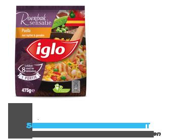 Iglo Paella met kipfilet & garnalen aanbieding