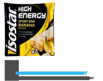 Isostar High energy sportbar banana aanbieding