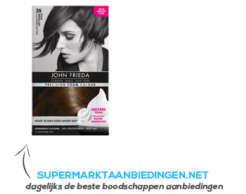 John Frieda Precision 3N deep brown black aanbieding